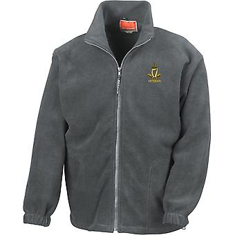 Royal Irish Regiment Veteran - Licensed British Army Embroidered Heavyweight Fleece Jacket