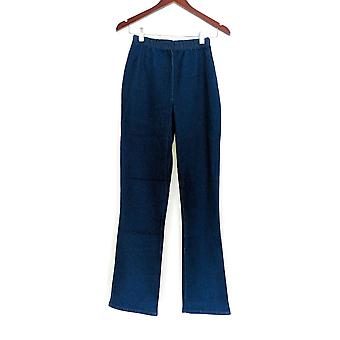 Denim & Co legging XXST stretch Tall Boot Cut blauw A01725