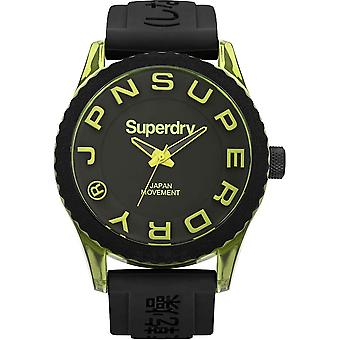 Superdry Tokyo Japanese Quartz Analog Man Watch with SYG145BY Rubber Bracelet