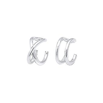 Elli Silver Women's Pin Earrings 301963018