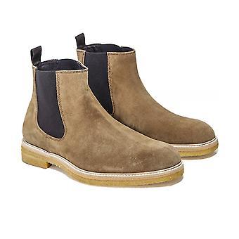 Joss Suede Chelsea Boots