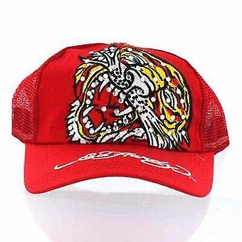 Cap Ed Hardy Red Tiger