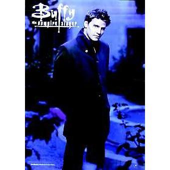 Buffy vampyyri Slayer (Angel) (yksipuolinen) alkuperäinen TV-juliste