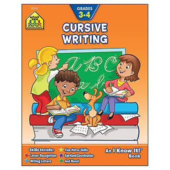 Curriculum Workbooks 32 Pages Cursive Writing Grades 3 4 Szcur 02002