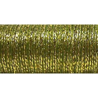 Kreinik Metallic Tapestry Braid #12 10 Meters 11 Yards Golden Olive T 5835