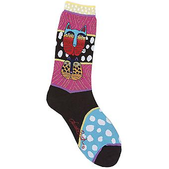 Laurel Burch Socks Wild Cats Multi Socks 1074