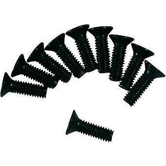 Spare part Team C T01119 Countersunk screws M3 x 8 mm