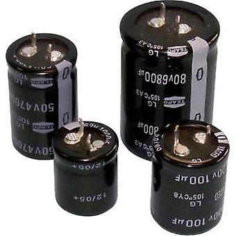 Electrolytic capacitor Snap-in 10 mm 4700 µF 63 V 20 % (Ø x H) 35 mm x 30 mm Teapo SLG478M063S1A5T30K 1 pc(s)