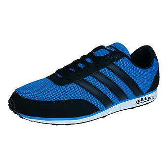 Adidas V Racer Mens Running formateurs / chaussures - Blue