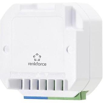 RS2W Wireless shutter actuator Flush mount 1-channel Switching capacity (max.) 500 W Max. range (open field) 150 m