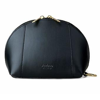 Jadeco Design Black Makeup Bag with Phone Charger