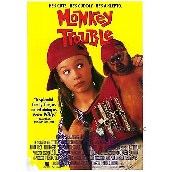 Monkey Trouble Movie Poster (11 x 17)
