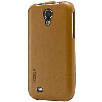 Skech custom jacket FlipStyle Samsung Galaxy S4 i9500 dark brown