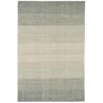 Samara Grey Stripe Wool & Cotton Rug