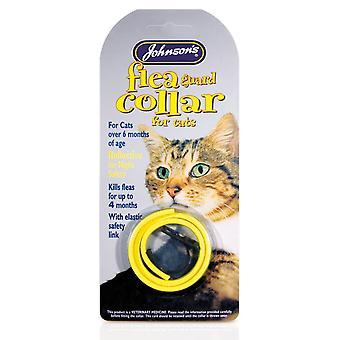 Jvp Cat Flea Collar Reflective Mixed Colours 35cm (Pack of 6)