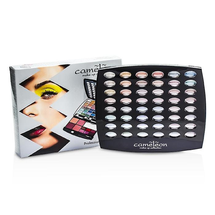 Cameleon Make-up Kit G1665: 48xEyeshadow, 4xBlush, 6xLipgloss, 4xBrush