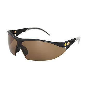 Caterpillar Unisex Semi Rimless Glasses Safety Eyewear Mens Ladies Womens Male