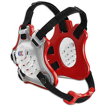Cliff Keen Youth F5 Tornado Wrestling Headgear - Translucent/Scarlet/Black