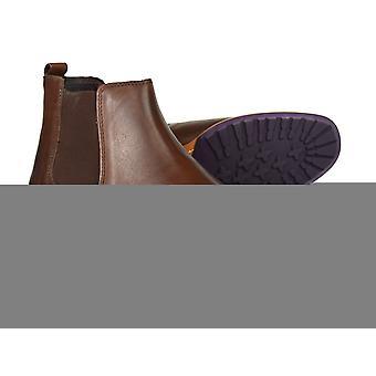 Silver Street Argyll Brown Leather Formal Mens Chelsea Boots