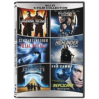 Sci-Fi 6-Film Collection [DVD] USA import