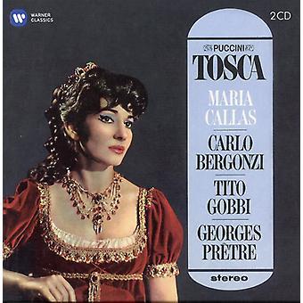 Puccini/Callas/Bergonzi/Gobbi/Pretre - Tosca (1964-1965) [CD] USA importare