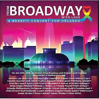 From Broadway with Love-Benefit Concert for Orland [DVD] USA import