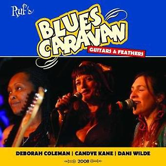 Coleman/Kane/Wilde - Blues Caravan-guitarer & fjer [CD] USA import