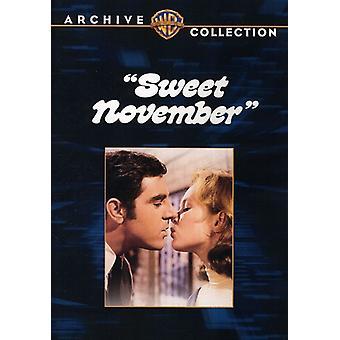 Sweet November (1968) [DVD] USA import