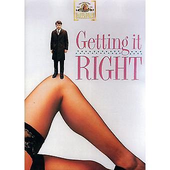 Att få det rätt [DVD] USA import