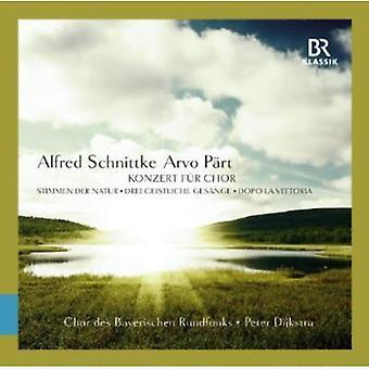Schnittke/Paert - Alfred Schnittke, Arvo P Rt: Konzert F R Chor [CD] USA import