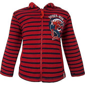 Jongens verwonderen Spiderman Full Zip Pullover NH1088 Hooded