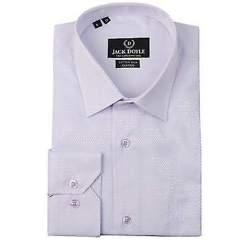 JD Shirts Classic Woven Shirt In Lilac