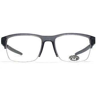 Animal Carpenter Semi Rimless Combination Glasses In Crystal Grey
