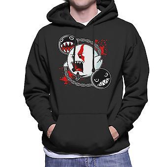 Ghost Of Sparta God Of War Mario Men's Hooded Sweatshirt