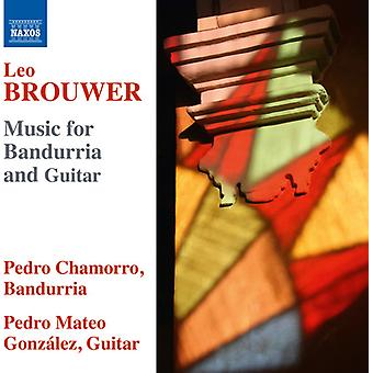 Brouwer / Chamorro / Gonzales - Music for Bandurria & Guitar [CD] USA import