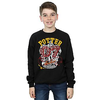 Harry Potter Boys Gryffindor Seeker Sweatshirt