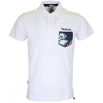 Franklin & Marshall Al118 Regular Fit White Polo