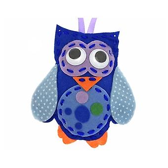 Kit to Make Hoots the Owl - Sewing Craft for Kids | Sewing for Kids