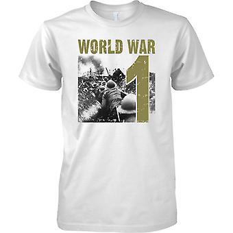 Anden verdenskrig 1 - skyttegravskrig - Herre T-shirt