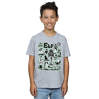 Elf Boys Infographic Poster T-Shirt