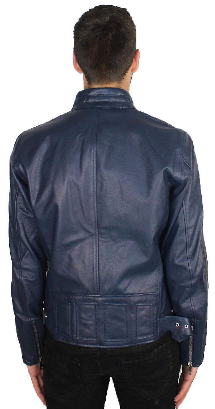 Diesel L-Reed 81EA Leather Jacket