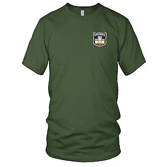 US Navy Naval Station Subic Bay Philippines Original Version Embroidered Patch - Mens T Shirt