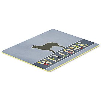 Croatian Sheepdog Welcome Kitchen or Bath Mat 20x30