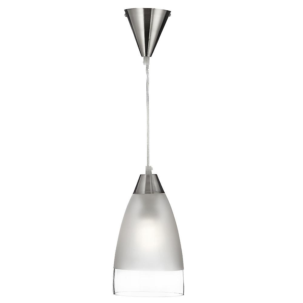 Searchlight 7702 Pendants 1 Light Glass Dome Ceiling Pendant