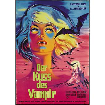 Beso del vampiro el Movie Poster (11 x 17)