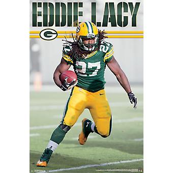 Green Bay Packers - Eddie Lacy 2014 Poster Poster Print