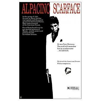 Scarface Poster Poster Print