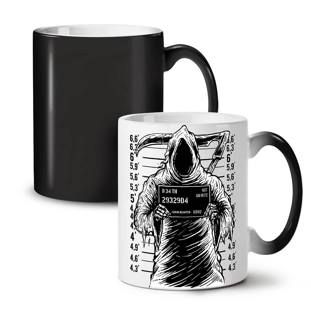 11 Horreur OzWellcoda Prison Grim Noir Reaper Tasse Couleur Thé Changeant Café Céramique Nouvelle VzqSUMp