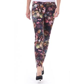 Paul Smith Paul Paul Smith Womens Printed Rose Skinny Jean