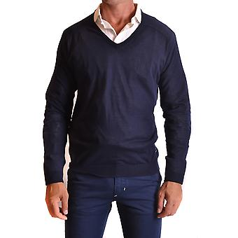 Kostume national mænds MCBI074060O Blau bomuld sweater